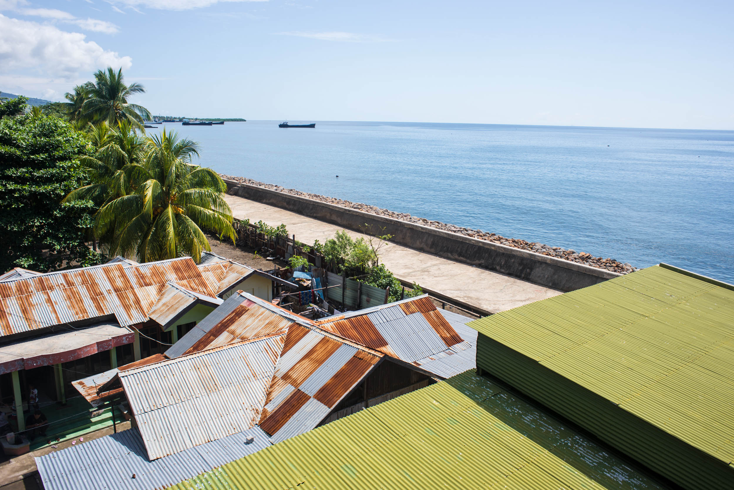 Rooftops in Maumere