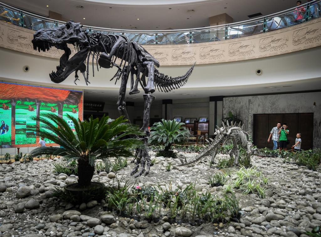 Chengdu dinosaurs.