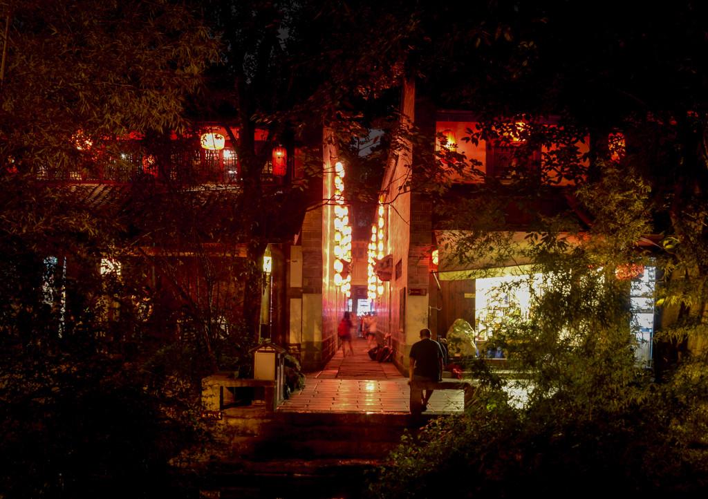 Jinli Walking Street in Chengdu.