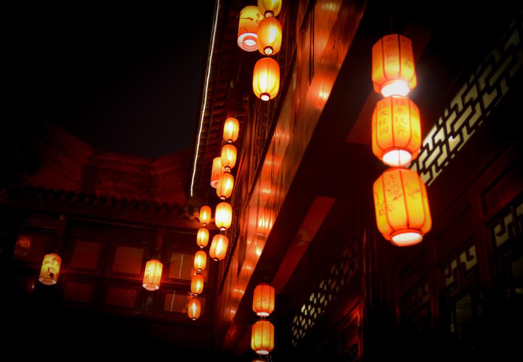 Lanterns on Jinli St.