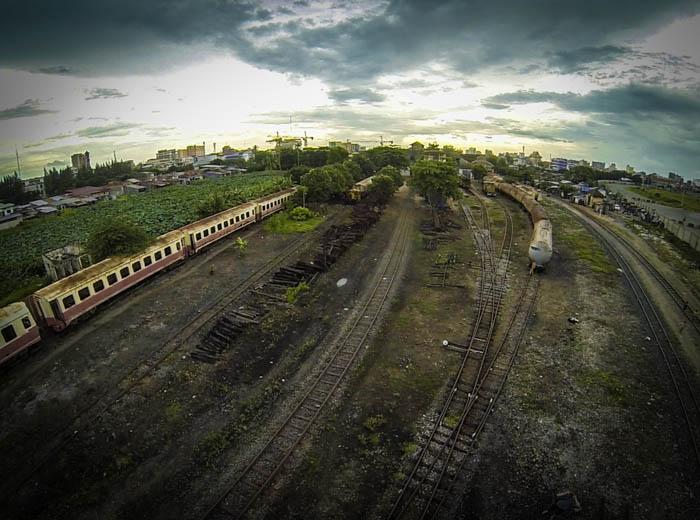 train tracks in PP