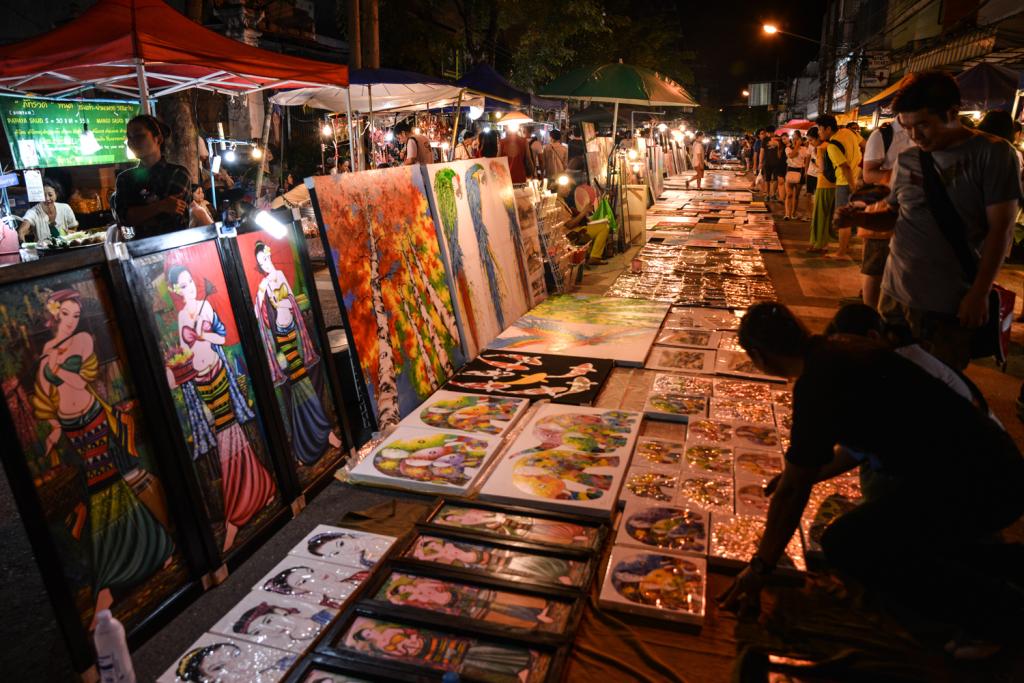 chiang mai art market