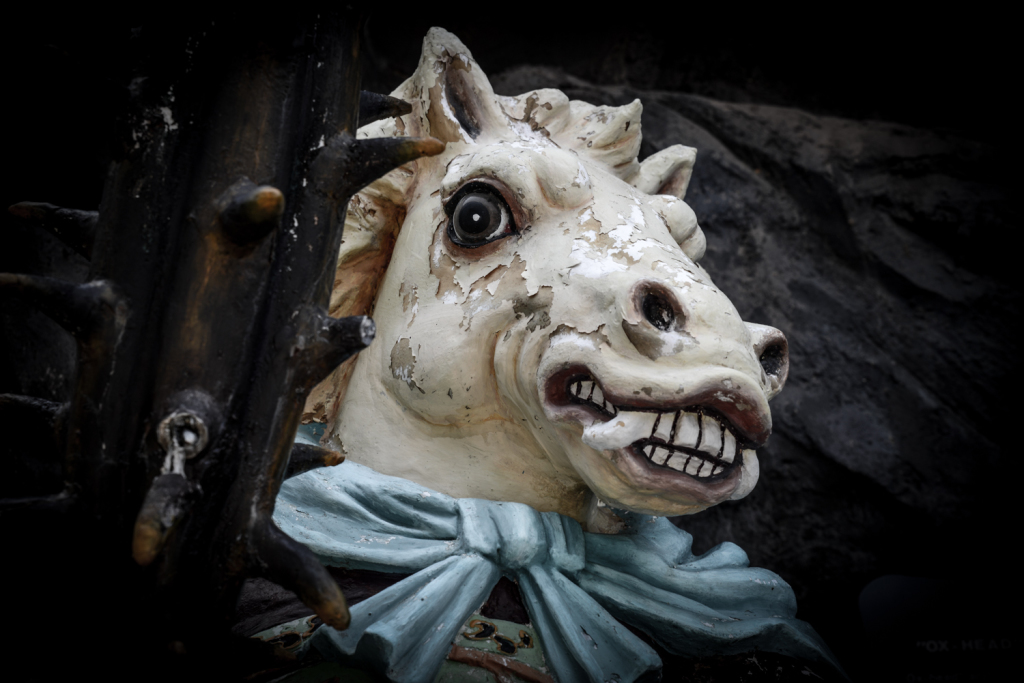 Horse demons. For the kids, see.