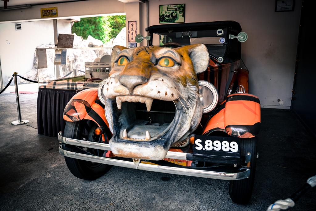 haw par tiger car